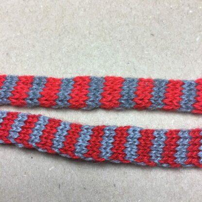Rød/grå tubestrik