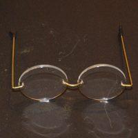 Nissebriller med ovale plexiglas
