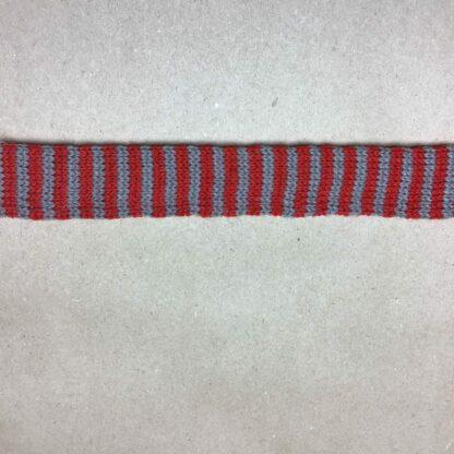 Gl.rød /grå tubestrik