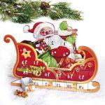 julekalender med 24 små skuffer