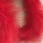 Rød fjerboa